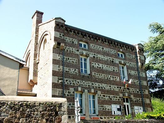 Mairie (ancien presbytère) © Renaud Aulagner 2006