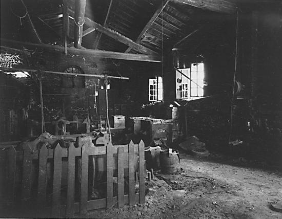 Atelier du Vieux moulin en 1998  (© Philippe HERVOUET)