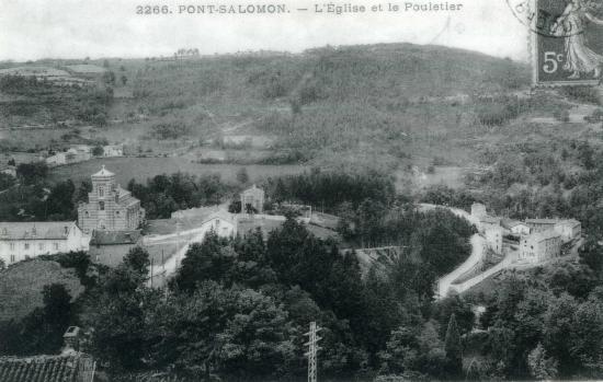 Pont-Salomon (Eglise et Foultier) © Vallée des forges