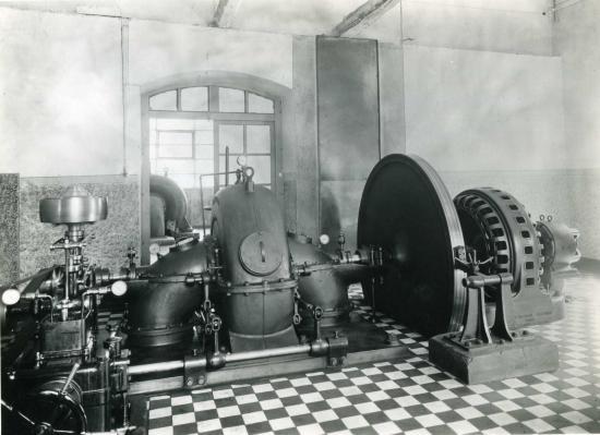 Centrale électrique (turbine) © Vallée des forges