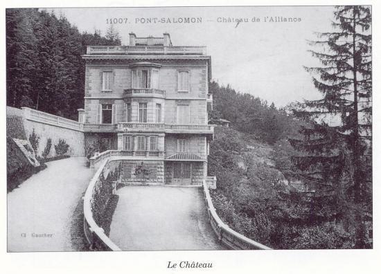 """Le """"Chateau"""" (© Vallée des forges)"""