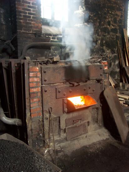 Four à charbon de forge(© Renaud Aulagner 2005)